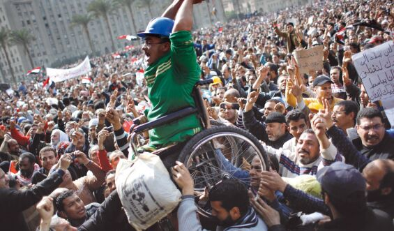 Cairo during the revolution 2011