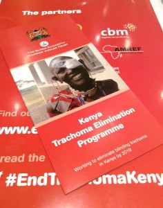 CBM is amongst the ICTC members implementing the trachoma elimination programme in Kenya